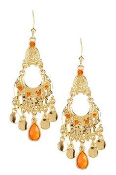 Bohemian Style Drop Earrings
