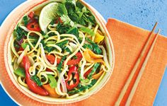 Cook up this quick and tasty noodle soup in under 10 minutes.