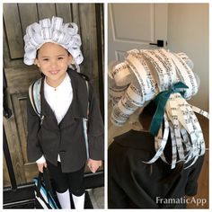 Mozart kids wig and costume DIY - Amazing Share Halloween Costume Contest, Creative Halloween Costumes, Fall Halloween, Halloween Decorations, Halloween Party, Crazy Hat Day, Crazy Hats, Homemade Costumes, Diy Costumes