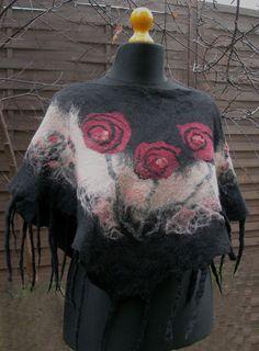 #nuno felting scarf