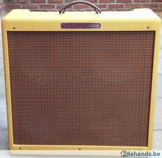 Fender 59 Bassman Lacquered Tweed + Cover - Te koop