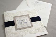 Wedding Invitations - Love, Jessica Handmade Invitations
