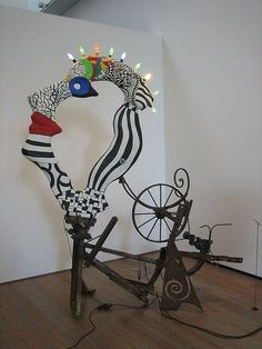 combined project by Jean Tinguely and Niki de Saint Phalle