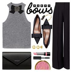 """""""Party Bows"""" by ivansyd ❤ liked on Polyvore featuring MANGO, Kate Spade, Miss Selfridge, Marni, Marc by Marc Jacobs, Balenciaga, Rimmel, BERRICLE, Bobbi Brown Cosmetics and bows"""