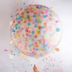 36 inch Latex /Confetti balloon / Birthday Balloon Bouquet Kit Balloon Set Giant Birthday Bouquet K - - Confetti Balloons Wedding, Clear Balloons With Confetti, Polka Dot Balloons, Transparent Balloons, Bubble Balloons, Giant Balloons, Baby Shower Balloons, Latex Balloons, Birthday Balloons