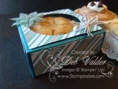 Envelope Punch Board Mini Pie Favor for Christmas