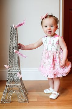Paris Theme Birthday Party!
