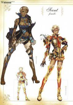 IMC Games, Granado Espada, Scout (Granado Espada), Character Sheet