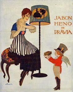 Carteles Publicidad Heno de Pravia 1900-1930                                                                                                                                                                                 Más