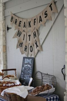 Breakfast Birthday Party Ideas