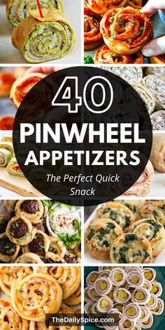 These party pinwheels and party roll ups are perfect for game day, for a picnic or even as lunch. These pinwheel appetizers will impress anyone and they're also super quick and easy to make! The perfect bite sized snacks! Pinwheel Appetizers, Pinwheel Recipes, Quick Appetizers, Finger Food Appetizers, Holiday Appetizers, Appetizer Recipes, Appetizer Buffet, Bite Size Snacks, Scalloped Potato Recipes