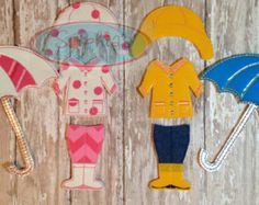 Felt Dress-A-Doll: Boy OR Girl Felt Dress Up by SophiasKidKaboodle