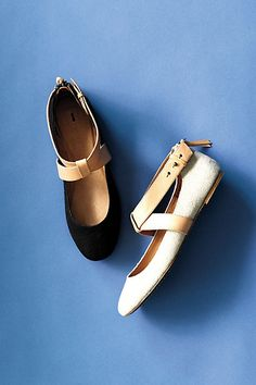 """""""En Pointe Flats"""" by Schuler & Sons (in black or grey, which I think I like better?!?)"""
