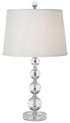 Stacked Ball Acrylic Table Lamp - Glass Lamp - Amazon.com