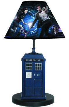 lights up and makes the TARDIS noise when you open the doors... Which has a picture of the inside of the TARDIS in it.