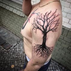 dead tree tattoos - Cerca con Google
