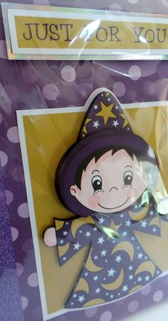 wizard with glossy eye's and star pendant with glittered star outfit and hand made envelope Cute Characters, Disney Characters, Fictional Characters, Glossy Eyes, How To Make An Envelope, Star Pendant, A5, Minnie Mouse, Stars