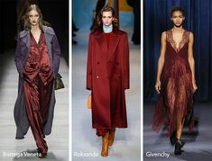 Fall/ Winter 2018-2019 Color Trends: Red Pear Wine Mooie kleur!