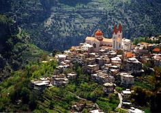 Village in the Mountains, Lebanon