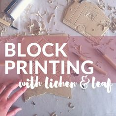 When I heard about the block printing workshop being hosted by local textile lady, Cynthia Edwards, of Lichen and Leaf, I was VERY excited. I have had a thing for textiles since forever and have really been wanting to learn some print techniques.