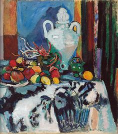 All sizes | Henri Matisse - Blue Still Life (Nature morte bleue), 1907 at Barnes Foundation Philadelphia PA | Flickr - Photo Sharing!