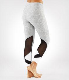 Linea Cropped Legging - Herringbone