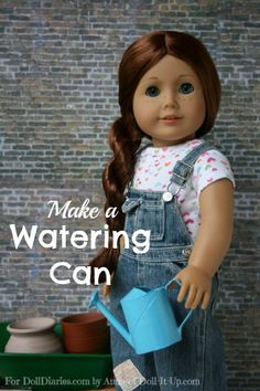 Doll Craft-Make a Watering Can