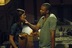 David Ramsey as Anton Briggs and Jennifer Carpenter as Debra Morgan