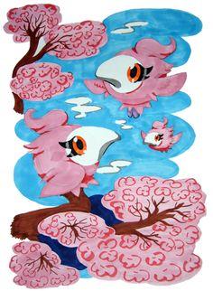 Pokemon Cherry Spritzee by DemonDragonKaidou.deviantart.com on @deviantART