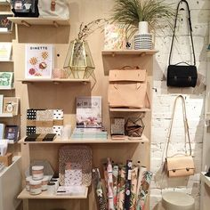 Buk & Nola, retail store display, accessories display, stationary, homeware