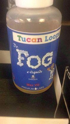 Tucan Loops - Dr. Fog I Shop, Water Bottle, Container, Drinks, Drinking, Beverages, Water Bottles, Drink, Beverage
