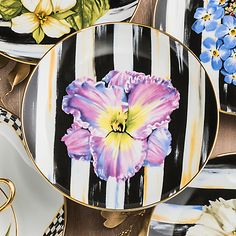 MacKenzie-Childs | Butterfly Collection Side Table