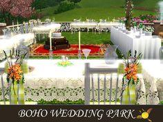 evi's Sims 3 Downloads Sims 3, Boho Wedding, Table Decorations, Home Decor, Decoration Home, Room Decor, Bohemian Weddings, Home Interior Design, Dinner Table Decorations