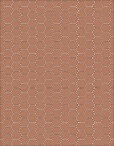 Morandi Sisters Microworld: Printable Wallpapers - Terracotta Tiles - Carte da parati Stampabili