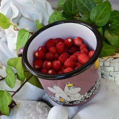 Enpä tiennytkään että kellarinkatolla, puskien alla, kasvaa näin makea yllätys :-) #fragariavesca#makea#marja#ahomansikka#metsämansikoita#kotipiha#tenholanpiha#muumi#muumimuki#muurla#wildstrawberries#woodlandstrawberry#delicious#ownyard#moomin#moominmug#summer#sweet#berries#summeringarden