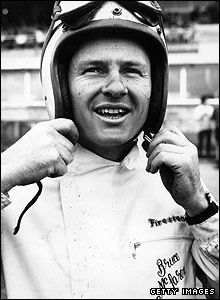 Bruce McLaren pictured in 1965