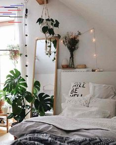 72 perfect idea room decoration get it know 42 is part of Cozy apartment decor 72 perfect idea room decoration get it know 42 Related - Stylish Bedroom, Cozy Bedroom, Modern Bedroom, Bedroom Small, Bedroom Inspo, Contemporary Bedroom, Plants In Bedroom, Bedroom Inspiration Cozy, Small Rooms