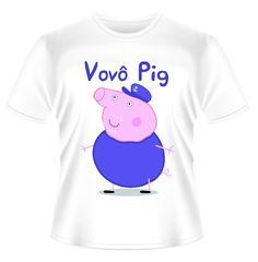 Camiseta VOVÔ PIG