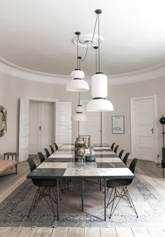 The Handvärk Apartment - Picture gallery Designs To Draw, Dining Table, Living Room, Interior, Inspiration, Flat, Furniture, Gallery, Home Decor