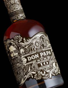 Don Papa is a premium small batch rum from the isle of Negros Occidental, the Philippines. Stranger & Stranger recently designed the packaging for Don Papa's 10 year edition, which features the brand's namesake among local flora and fauna as it undulates around, wrapping the bottle.