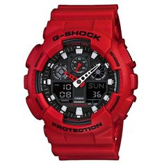 Casio Men's 'G-shock' Resin Analog-digital Watch by Casio