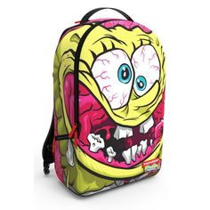 The Spongebob Crazy Pants backpack from Sprayground is the latest collaboration with awesome graphics, featuring multiple compartments for all of your essentials. #sprayground #spongebob #spongebobbag #spraygroundspongebob