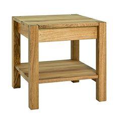 HAKU Mbel 30313 Beistelltisch Holz Eiche Gelt 43 X 45 Cm