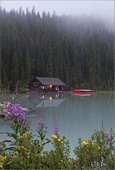 Cabin at Lake Louise, Canada