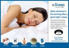 At Sleep Solutions, our memory foam pillow range slowly and automatically adjusts to your body weight and temperature, allowing you to get a great night's sleep. Great Night, Good Night Sleep, Sleep Solutions, Pillows Online, Head And Neck, Soft Pillows, Body Weight, Memory Foam, Duvet
