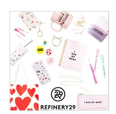 """Upgrade Your Chic With Refinery29"" by danielle-487 ❤ liked on Polyvore featuring ban.do, women's clothing, women, female, woman, misses, juniors, Refinery29 and upgradeyourchic"