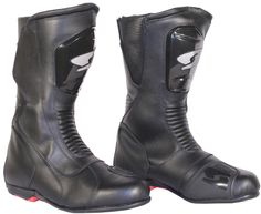 Motorcycle Leather Boots (Spyke Trophy WP) Motorcycle Leather, Motorcycle Boots, Leather Boots, Rubber Rain Boots, Combat Boots, Shoes, Style, Fashion, Gloves