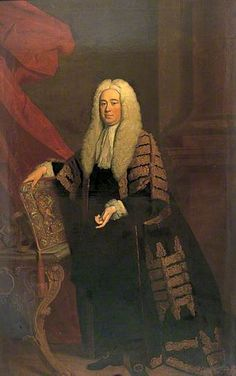 Lord Chancellor Hardwicke (1690–1764) by Allan Ramsay. Date painted: 1740. Collection:  Dover Collections.