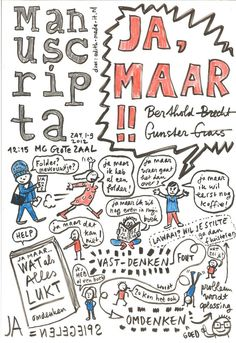 Strip van Manuscripta, door Edith-Made-It