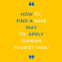 Apply for your Iran Visa Now! Iran Traveling Center is ready to get your visa in a safe and fast way. Visa Information, How To Apply, How To Get, Iran, Need To Know, Nassau, Traveling, Travel, Trips